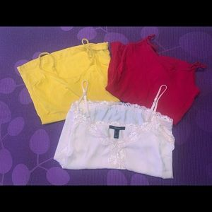 BUNDLE OF FOREVER21 TANKS